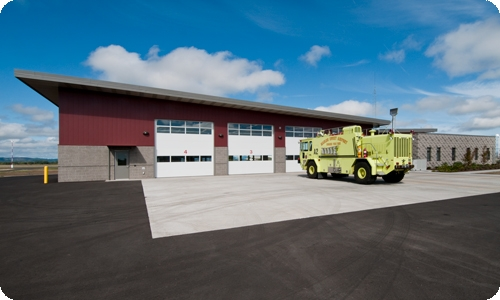 Eugene Airport ARFF Station